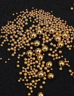 Caviar Mix Metal Gold