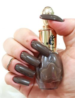Esmalte Ok Cosmétic, Beauty Night Brown
