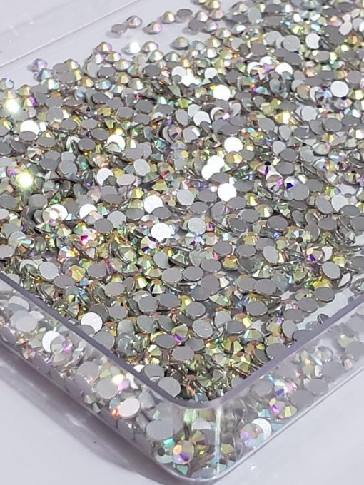Chaton De Cristal Ab Furta cor Strass - 3mm Com 100pcs 1